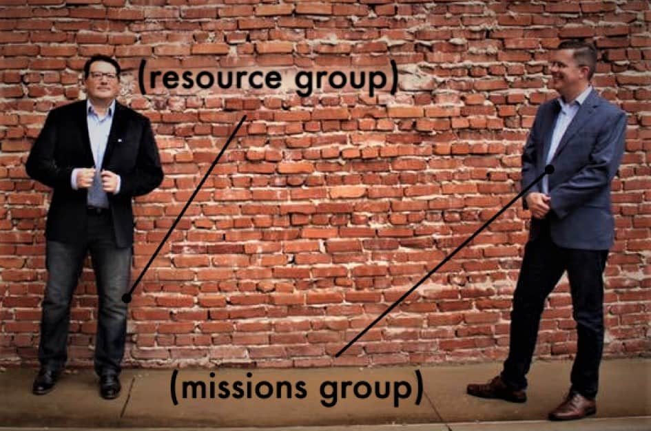 (resource group) | (missions group) |